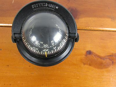 Compass Ritchie Boat  Pembroke Mass USA Marine Lighted B-51 Vintage Great