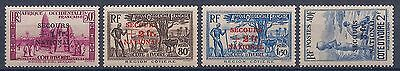 Cote D Ivoire - 165/168 Secours National Serie Complete N** Mnh Luxe