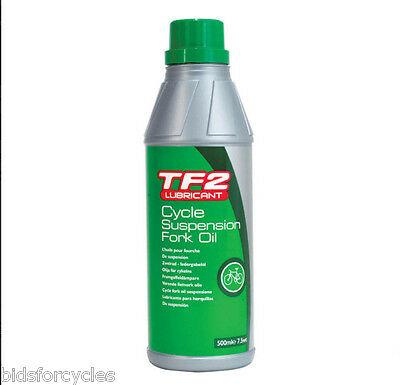 WELDTITE TF2 RAD FEDERGABEL OIL 5wt 500ml MTB FEDERUNG OIL