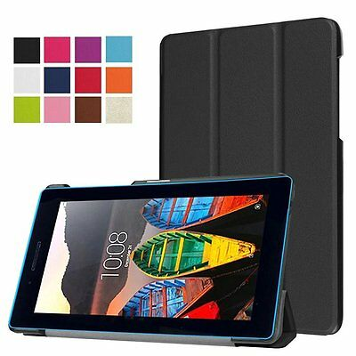 Ultra Slim Smart Cover Case Stand for Lenovo TAB3 7 TB3-730F / TB3-730M Tablet