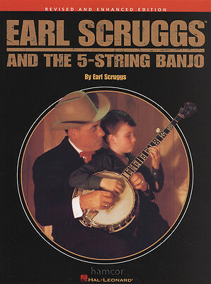 Earl Scruggs And The 5-String Banjo TAB Music Book Learn to Play Beginner Method