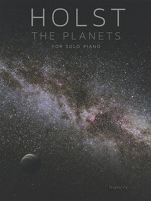 Holst The Planets for Solo Piano Sheet Music Book
