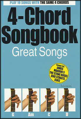 4-Chord Songbook Great Songs Guitar Chord Songbook Learn To Play