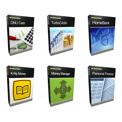 Bundle - Professional Home and Business Accounting Finance Software