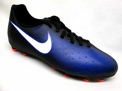 Nike Jr magista Olga II Firm Ground Soccer Cleat Youth Black/White/Blue-016