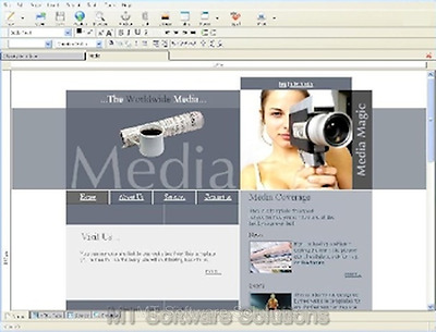 Web Design Pro - Website Designer CSS HTML Editor Learn Edit Web Page Software