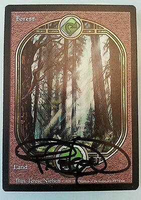 1 x foresta unglued firmata! - forest - signed