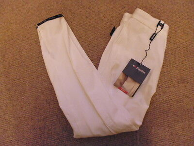 Equiline Ladies Victoria Breeches white size I 40 UK 6/8 show competition