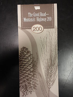 """Montana State Highway 200 (""""The Good Road"""") Pamphlet"""