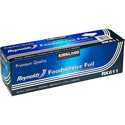 Kirkland Signature Reynolds Heavy Duty Foodservice Foil Roll - New !!