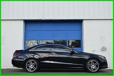 2015 Mercedes-Benz E-Class E400 Coupe 4MATIC AMG Sport HK Audio Loaded Save Repairable Rebuildable Salvage Runs Great Project Builder Fixer Easy Fix Save