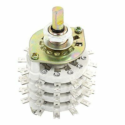 4P11T 4 Pole 11 Throw Ceramic Band Channel Rotary Switch Selector