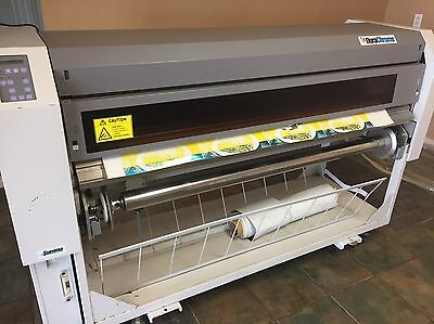Summa Dura Chrome DC50 Large Format Vinyl Sign Printer