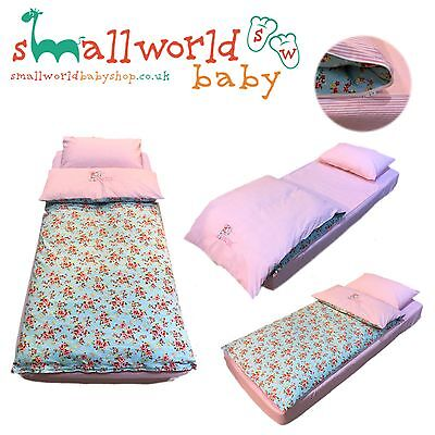 Personalised Girls Vintage Floral Zip-Up Bedding (NEXT DAY DISPATCH)