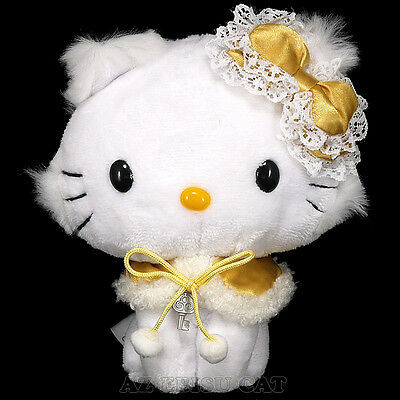 Hello CHARMMY KITTY Plush Doll Winter ver. Accessory Gold Yellow JAPAN