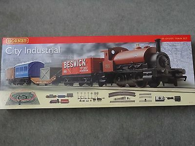 Hornby R1127 City Industrial 00 Gauge Train Set Boxed Brand New & Unplayed