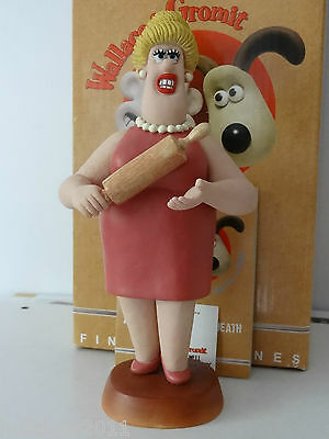 Robert Harrop Wg08 Wallace & Gromit Piella Bakewell *signed* Ltd Edt 1000 Mib