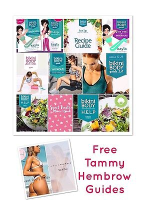 Kayla Itsines 10 Bikini Body Guide Bundle With Free Tammy Hembrow Guides