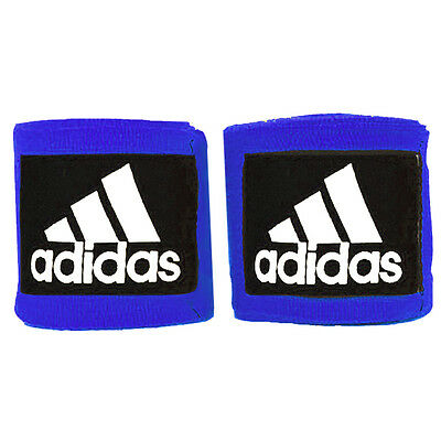 Adidas 3.5m Mexican Style Boxing Handwraps - Blue