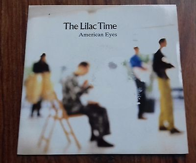 """American Eyes / The World In Her Arms - The Lilac Time (7"""" Vinyl, 1989)"""