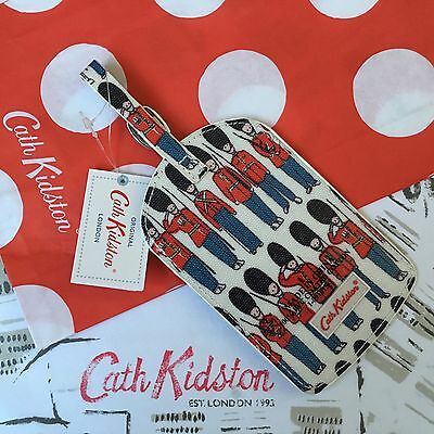 Genuine CATH KIDSTON Guard Luggage Tag - New with Tags + Gift Bag