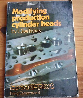 Modifying Production Cylinder Heads, Clive Trickey Speedsport Tuning Companion 4