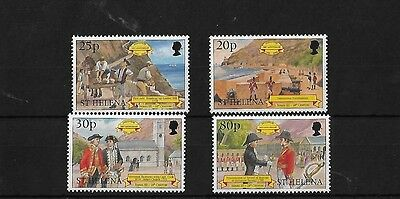 St Helena 1999 Discovery (3Rd) Mnh, Sg786/9, Cat £10+