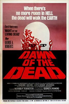 Dawn Of The Dead (1978)  '000'  - George Romero - Vintage poster
