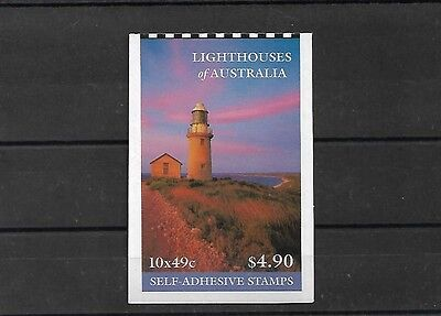 Australia 2002 Lighthouses $4.90 Booklet