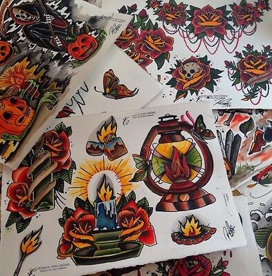 Tattoo flash by Ron Andersen.