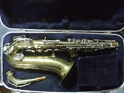G3c VINTAGE CONN SHOOTING STAR ALTO SAXOPHONE - w/ Case/Mouthpiece *READ*
