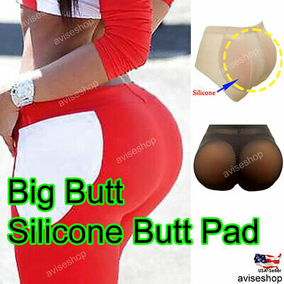 Butt Enhancer BOOTY PADDED Pads Panties Brief Silicone Pads Butt Enhancer Shaper