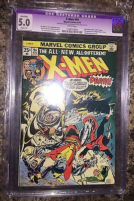 X-MEN #94 CGC 5.0 white purple label CANADA SELLER