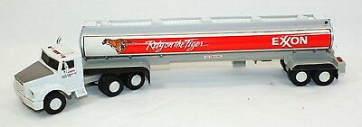 Vintage Toy Exxon Tanker Truck With Lights Sound Exxon Collectors Series NIB