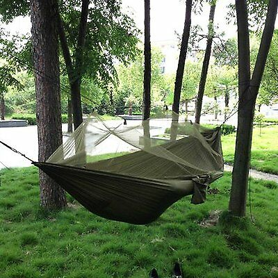 Camping Hammock with Mosquito Net,Double Persons Iqammocking Bed Tent Portable
