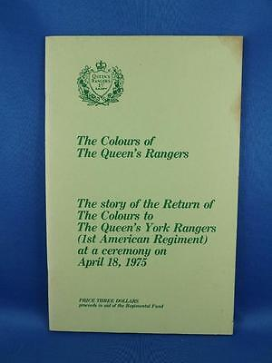 The Colours Of The Queens Rangers Booklet Story Of The Return April 1975