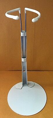 """Kaiser Doll Stand for 12"""" to 15"""" Dolls white w/ plastic coated waist"""