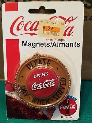 Coca-Cola Magnet Magnet round please pay when served in original package