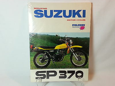 *brand New Sealed* - Suzuki Sp370 - Cycleserv Factory Service Repair Shop Manual