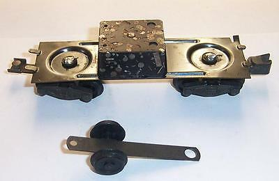 American Flyer S Gauge Parts Tender Chassis w/ Trucks & Brass Pickup Wheels