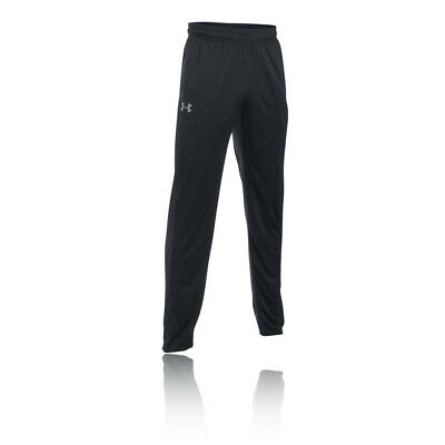 Under Armour Tech Mens Black Running Training Long Pants Sports Bottoms