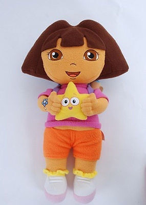 New DORA THE EXPLORER Kids Girls Soft Cuddly Stuffed Plush Toy Doll 25cm