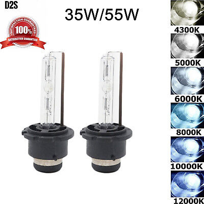 NEW Genuine OEM HID Xenon PAIR D2S for Osram or Philips Headlight Bulbs 2Pcs
