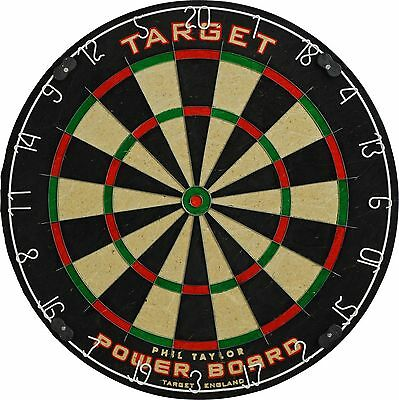 MODERN Phil Taylor Dart Board Fully Rotatable Target Dartboard Party Game Sports