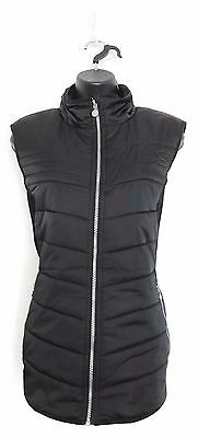 DAILY SPORTS Women's Golf Alissa Wind/Water Resistant Vest (Black) - X-Large