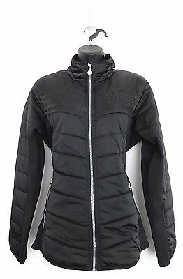 DAILY SPORTS Women's Golf XDS Alissa Wind/Water Resistant Jacket (Black) - Large