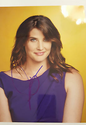Cobie Smulders Autogramm ca 25x20cm inPerson signed How I met your mother