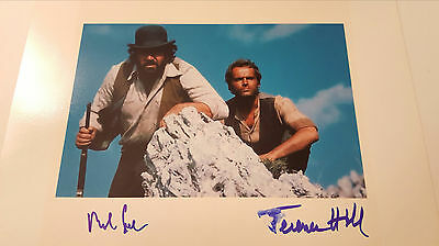 Bud Spencer Terence Hill Autogramm ca 30x21cm inPerson signed