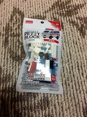 Daiso Petit block educational toy building Ambulance from Japan Free shipping