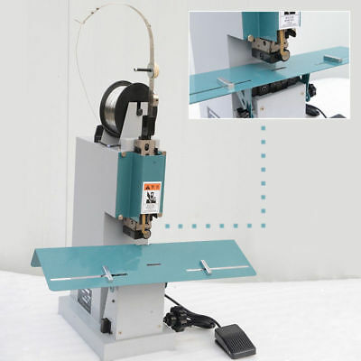 Adjustable M2000 Flat /Saddle Stapler Machine With Foot Pedal Control 220V